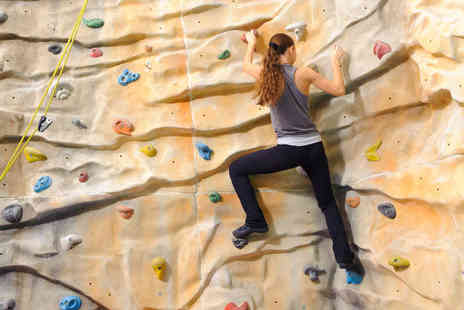 ROKtherapy - Hour Long Supervised Indoor Climbing Sessions with Equipment Hire and Unsupervised Follow Up Session - Save 61%