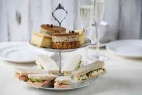 Samlesbury Hotel - Champagne afternoon tea for 2  - Save 56%