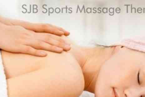 SJB Sports Massage Therapy - One Hour Sports Massage - Save 69%