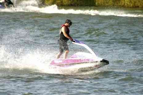 Lagoona Park jet ski - Jet Ski or RIB Experience For Two or Family of Three - Save 24%