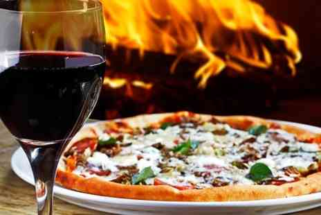 Elysium - Pizza or Pasta Meal With Wine For Two - Save 57%