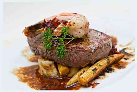 1573 Bar & Grill - Two Course Steak Meal With For Two - Save 56%