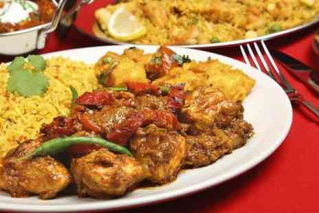 Ishta -Two Course Indian Meal With Sides For Two - Save 71%