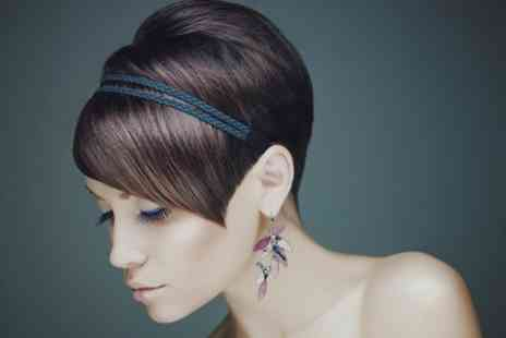 Hills Reed Hair & Beauty - Cut and Blow Dry Plus Ten Packets of Colour  - Save 57%