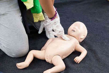 Heartsafety Solutions - Sports or Paediatric First Aid Course for One - Save 65%