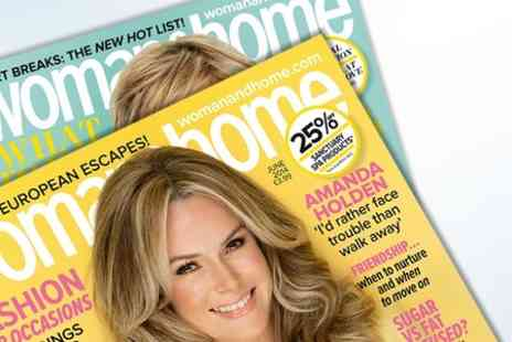 IPC Media - 12 Month Woman & Home Magazine Subscription - Save 55%