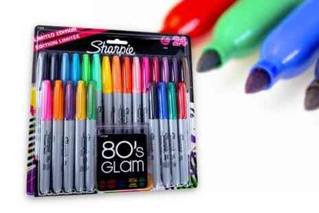 Premium Brands 4 Less - Marker pens in 24 different bright colours - Save 38%