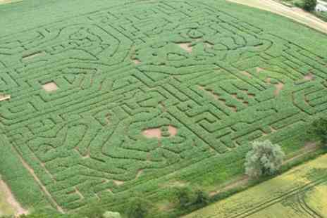Elton Farm - Maize Maze and Adventure Maze Entry For Two - Save 50%