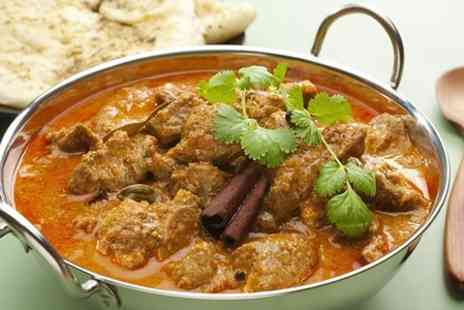 Cafe India - Two Course Indian Meal For Two - Save 55%