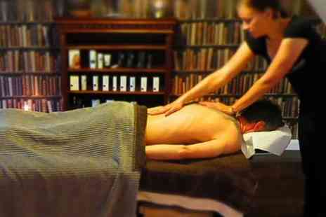 Trumans of Norwich - Gents Back, Neck and Shoulder Massage With Body Buff - Save 50%
