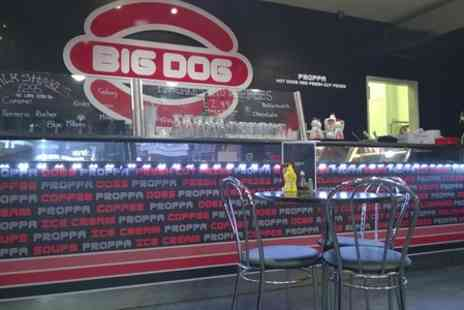 Big Dogs Restaurant - Burger or Hot Dog With Fries and Shake - Save 50%