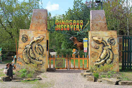 Dinosaur Discovery - Entry to Dinosaur Discovery Park for Family  - Save 50%