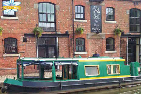 Burscough Boat Hire - 90 Minute Boat Cruise with Afternoon Tea Hamper for One - Save 51%