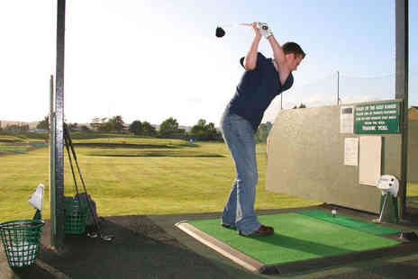 The Kent and Surrey Golf Club - Driving Range Use For Four People With 50 Balls Each - Save 50%