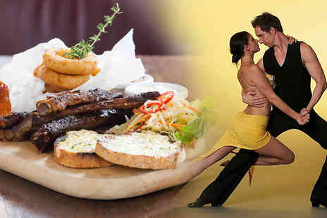 London Diary - Sharing platter for two and 12 salsa or bachata classes - Save 82%
