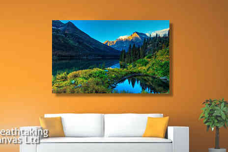 Breathtaking Canvas - 20 x 32 inch Personalised Canvas - Save 81%
