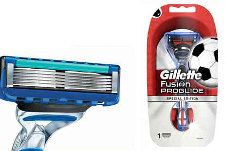 Health Pharm - Gillette Fusion ProGlide England World Cup Razor - Save 43%