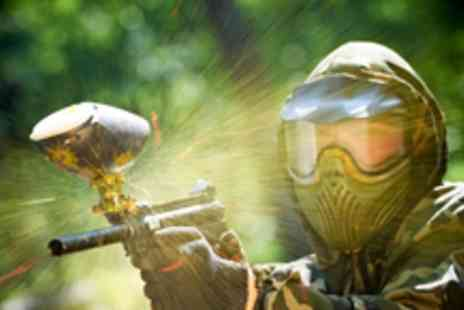 Camouflage Paintball - Full day of paintballing including 100 paintballs, lunch & refreshments  - Save 82%