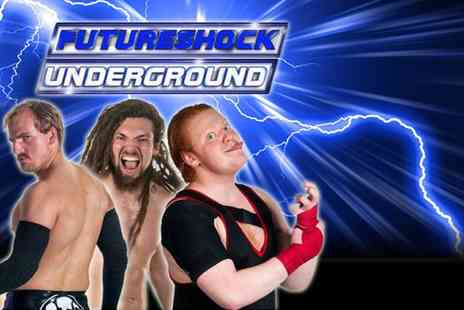 Future Shock Wrestling - Ticket to the UnderGround 5 pro wrestling event - Save 50%
