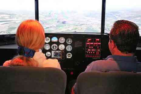 Denbigh Flight Training - Simulator Session Plus Airfield Membership - Save 66%