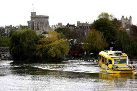 Windsor Duck Tours -  Ticket For  Family of Four at  See historical sights and surrounding parkland - Save 47%