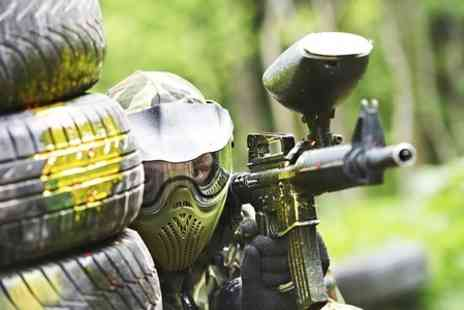 Blind Fire Paintball -  Day Long Session With 100 Balls Plus Lunch - Save 50%