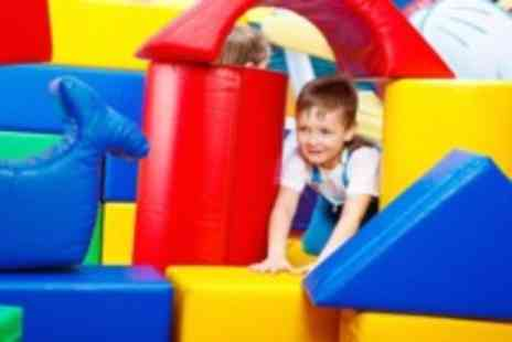Jurassic Jungle - Two hours of soft play for 2 kids, including meals & ice cream - Save 50%