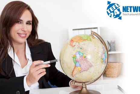 TEFL 247 - 140 Hour Advanced TEFL Course - Save 93%