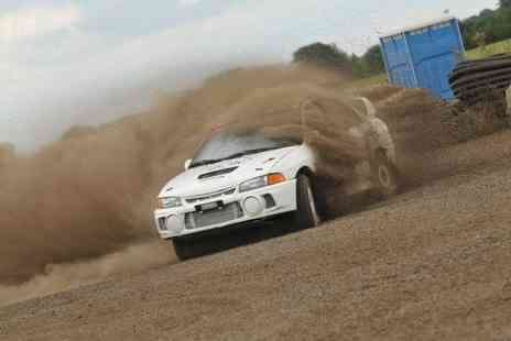 Langley Park Rally School - 6 lap rally driving experience - Save 59%