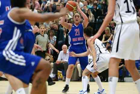 Basket Ball League - Choice of three Euro Basket Women's home qualifying games in June - Save 69%
