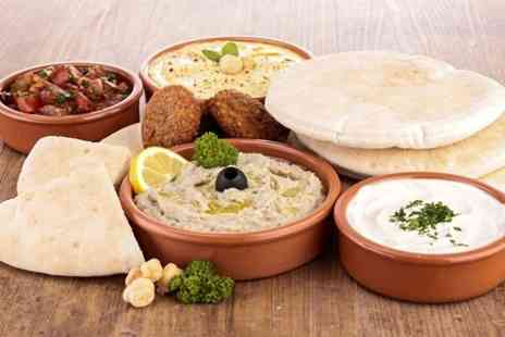 Al Farid - Moroccan Meze With Wine For Two - Save 50%