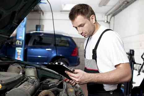 County Garage - MOT Test and Service Including Oil Change - Save 76%