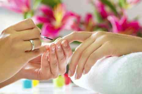 Perfection Beauty School & Salon - Gel Manicure  or Pedicure - Save 56%