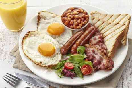 The Keys - Full English Breakfast For Two - Save 63%