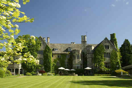 Stonehouse Court Hotel - One night stay for 2 people including  two course dinner, breakfast & late checkout  - Save 52%