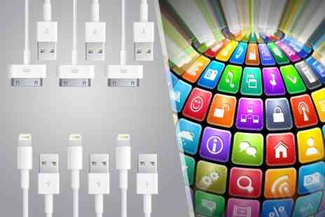 Links 4 - Two 1m charging cables for iPhones - Save 67%