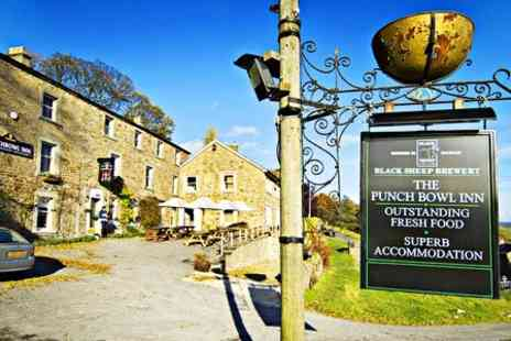 The Punch Bowl Inn - One Night stay For Two With Breakfast and Kir Royale in Yorkshire Dales - Save 50%