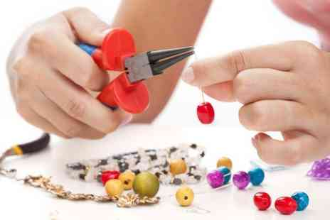 Vines Designs - Jewellery Making Class For One - Save 60%
