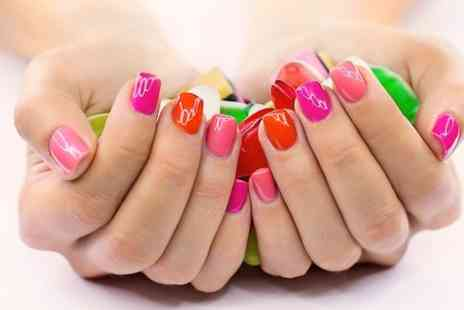Beautifully Gorgeous - Shellac Manicure or Pedicure or Both - Save 55%