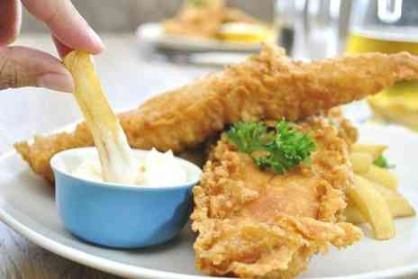 Kings Arms - Fish and Chips For Two - Save 62%