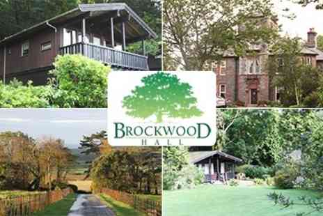 Vamos Today - Family Self Catering Stays at Beautiful Brockwood Hall, Valid in Half term and Summer Holidays - Save 51%