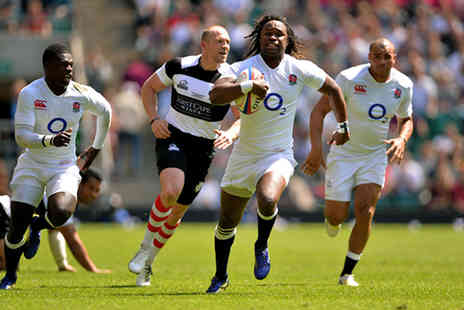 Rugby Football Union - Ticket to England XV vs. The Barbarians rugby match  - Save 50%