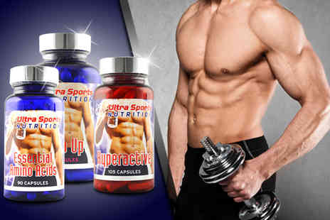 GB Supplement - Three piece body boosting supplements bundle  - Save 78%