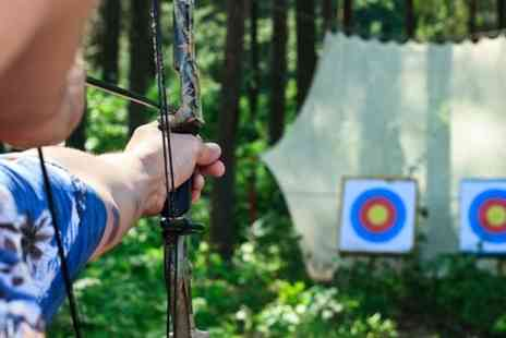 Leisure Matters - Two Archery, Axe Throwing and Air Rifle Shooting - Save 68%
