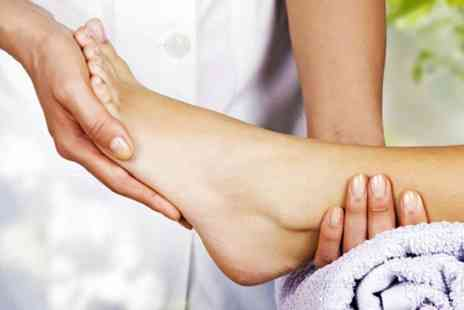 Boom Boom Beauty - One hour reflexology session - Save 69%