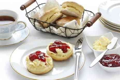 Whittington's Tea Barge - Riverside Cream Tea For Two  - Save 53%