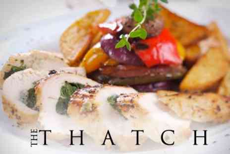 The Thatch - Three Course Meal For Two for £25 at The Thatch - Save 64%