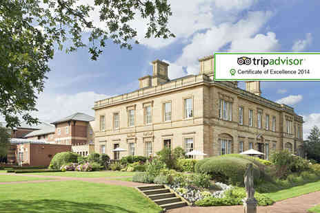 Oulton Hall Hotel - One night luxury Yorkshire break for two - Save 42%