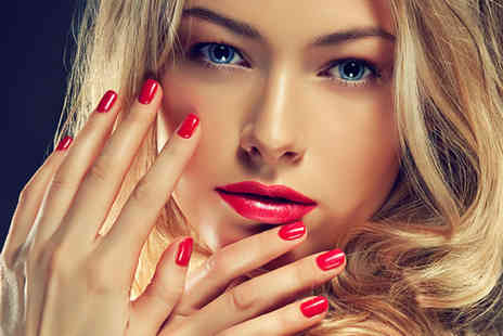 Coco Rouge Beauty Bar - Shellac manicure and pedicure including soak  - Save 65%