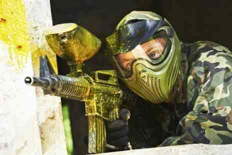 Horizon Paintball -  Paintballing For Five  - Save 87%
